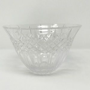 """Marquis Waterford 8"""" Crystal Bowl Shelton Design"""